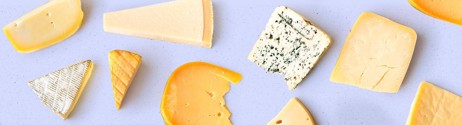 header image of various blocks and slices of cheese